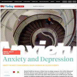 Anxiety: The Most Common Mental Health Diagnosis in College Students