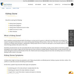 Kidney stone treatment in India