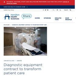 Diagnostic equipment contract to transform patient care - Hamilton Health Sciences