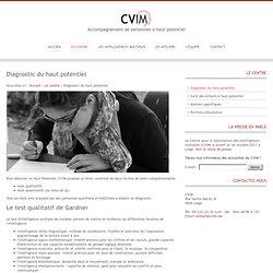 Diagnostic du haut potentiel- CVIM