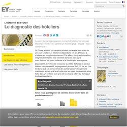Le diagnostic des hôteliers - L'hôtellerie en France