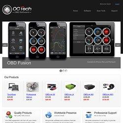 OBD2 Diagnostic Software, OBD Software, Scan Tools
