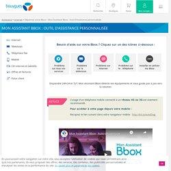 Dépannage/diagnostic Bbox via l'appli pour smartphone - Assistance Bouygues Telecom