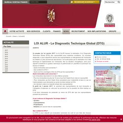 LOI ALUR - Le Diagnostic Technique Global (DTG)