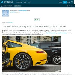 The Most Essential Diagnostic Tools Needed For Every Porsche: vintegratedigit