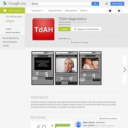 TDAH diagnóstico - Aplicaciones Android en Google Play