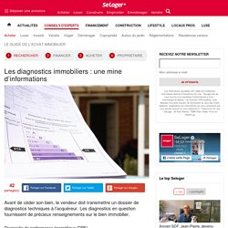 Les diagnostics immobiliers : une mine d'informations