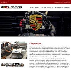 Porsche Coding & Diagnostics Leicester