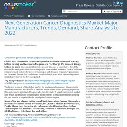Next Generation Cancer Diagnostics Market Major Manufacturers, Trends, Demand, Share Analysis to 2022