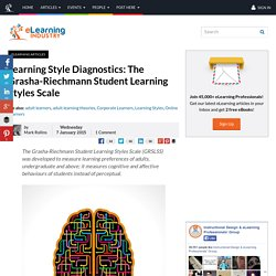 Learning Style Diagnostics: The Grasha-Riechmann Student Learning Styles Scale