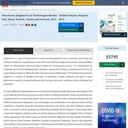 Pneumonia Diagnostics & Technologies Market Trends and Forecast to 2019 - TMR