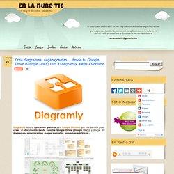 Crea diagramas, organigramas... desde tu Google Drive (Google Docs) con #Diagramly #app #Chrome