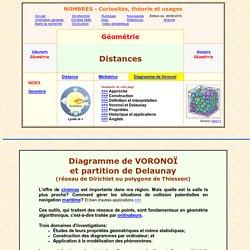 Diagramme de Voronoï
