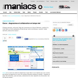 Cacoo application diagrammes collaboratifs
