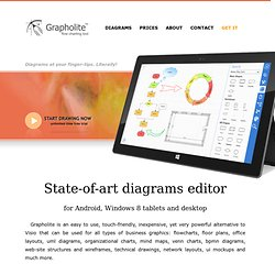 Grapholite - online diagramming and flow charting tool