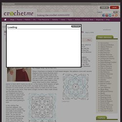 How to Follow Stitch Diagrams for Crocheted Motif Garments - Crochet Me Blog