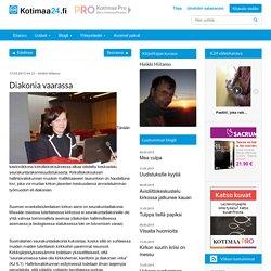 Diakonia vaarassa – Kotimaa24