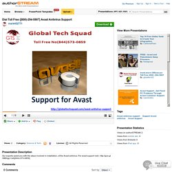 Dial Toll Free ([800)-294-5907] Avast Antivirus Support