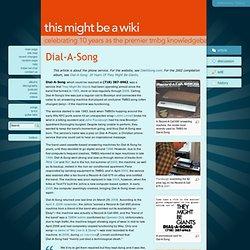 Dial-A-Song