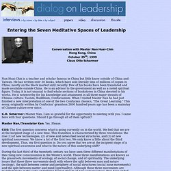 Dialog on Leadership: Master Nan Huai-Chin Interview