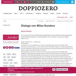 Dialogo con Milan Kundera