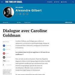 Dialogue avec Caroline Goldman