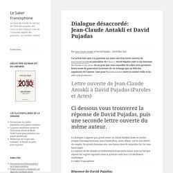 Dialogue désaccordé: Jean-Claude Antakli et David Pujadas