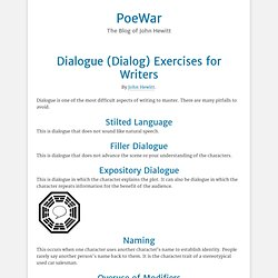 12 Exercises for Improving Dialog