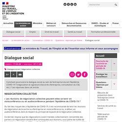 FAQ - Dialogue social au sein de l'entreprise