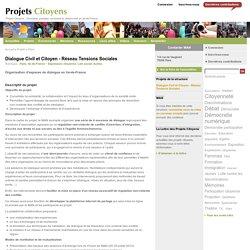 Dialogue Civil et Citoyen - Réseau Tensions Sociales
