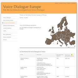 Voice Dialogue Europe - Trouver un facilitateur en France