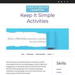 mini dialogues – Keep It Simple Activities