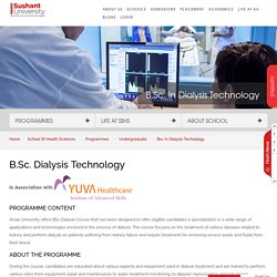 Dialysis Technician Course College in Gurgaon