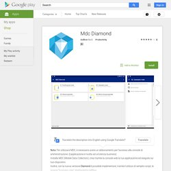Mdc Diamond - Android Apps on Google Play