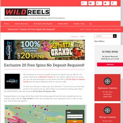 information diamond 7 casino free spins