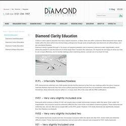 Diamond Clarity Education