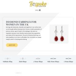 Buy White Gold Diamond Earrings for Women