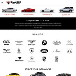 Diamond exotic rentals – Exotic and Luxury Car Rental – Exotic Car Rental Miami