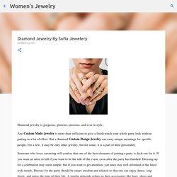 Diamond Jewelry By Sofia Jewelery