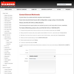 Diamond Multimedia Product Support and Downloads|video card drivers