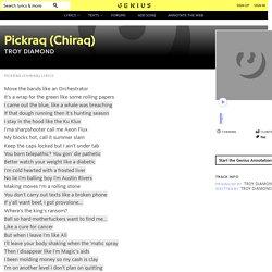 TROYDiAMOND – Pickraq (Chiraq) Lyrics