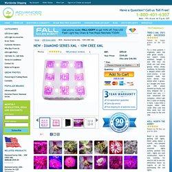 NEW - Diamond Series XML - 10W CREE XML - Advanced LED Grow Lights