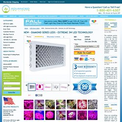 NEW - Diamond Series LEDs - Extreme 3w LED Technology - Advanced LED Grow Lights