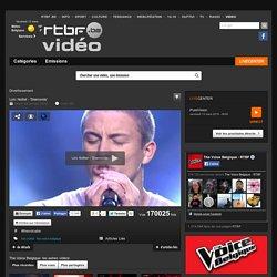 Loïc Nottet - 'Diamonds' du 24 janvier 2014, The Voice Belgique : RTBF Vidéo