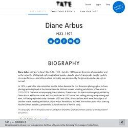 Diane Arbus 1923–1971