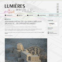 Diaporama spécial été : Qui sera le meilleur architecte… de châteaux de sables ?