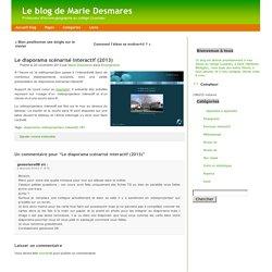 Le blog de Marie Desmares » Archive du blog » Le diaporama scéna
