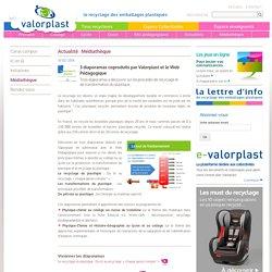 3 diaporamas coproduits par Valorplast et le Web Pédagogique - Valorplast