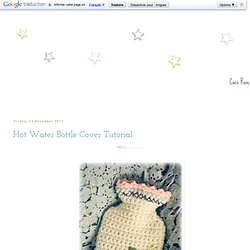 co Rose Diaries: Hot Water Bottle Cover Tutorial