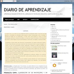 DIARIO DE APRENDIZAJE : PROTOTIPO Y DAFO
